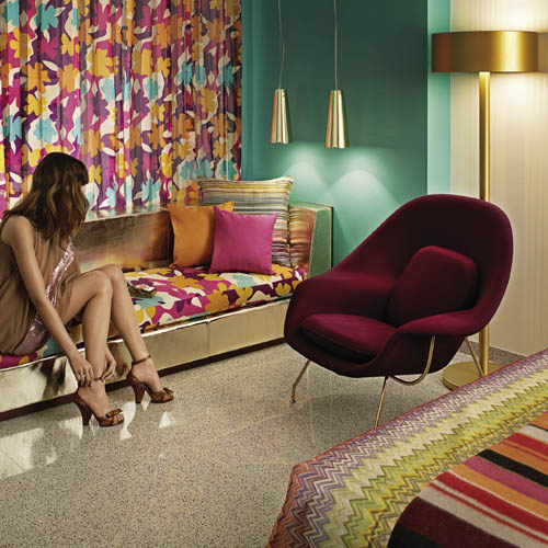 3c6a64759fe6 Luxury Italian fashion house Missoni is to continue its expansion into the  hospitality sector with the launch of a second Hotel Missoni in the Middle  East