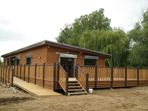 Green Leisure New Paxton Pits Education Centre Opens