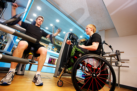 IntructAbility: Jobless disabled people can gain fitness qualifications