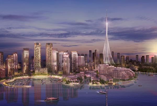 The project broke ground in October 2016 / Emaar Properties