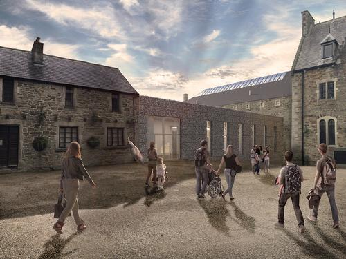 Twelve Architects are working with a team including museum consultants Sarner International, engineers Arup, and project management firm Turner & Townsend / Twelve Architects