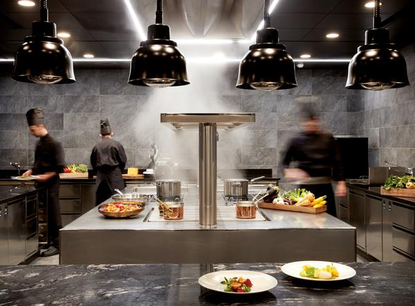 The restaurants serve traditional, regional dishes in contemporary surroundings