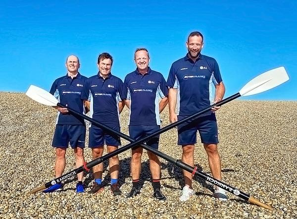 Burnet says the race is an opportunity to row as a team with old friends and to fundraise