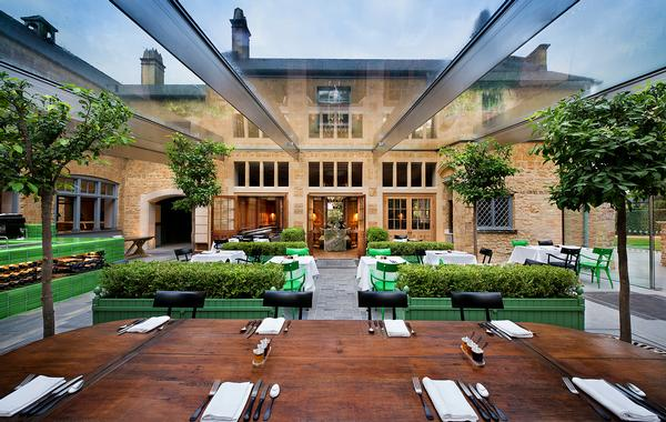 The Botanical Rooms serves food sourced from the estate