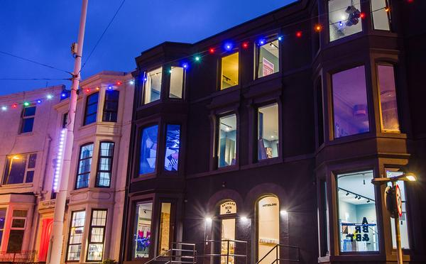 With its rooms designed by artists, Art Bnb is a boutique hotel and community business