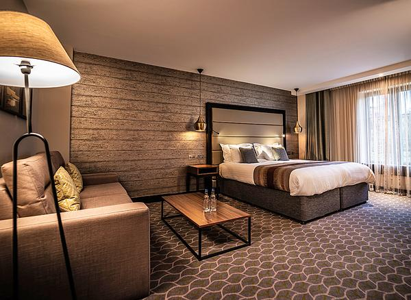 Luxury lodges and hotel rooms are currently in development at several sites across the portfolio