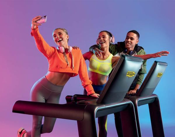 Technogym has brought exercise and fun together to create a compelling new offer with Excite Live