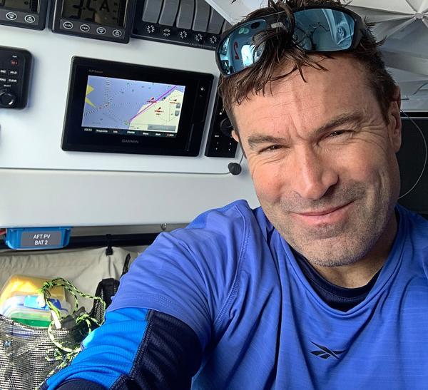 Keith Burnet will row across the Atlantic Ocean, from the Canary Islands to Antigua