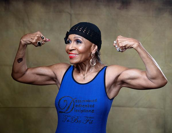 Ernestine Shepherd – born in 1936 – is a PT and bodybuilder / Washington Post/GETTY