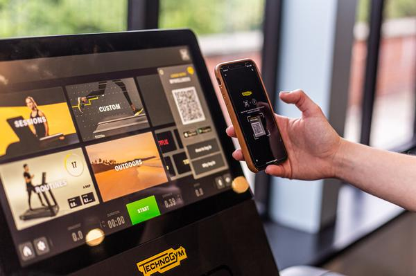 Excite Live offers full tracking and training personalisation with Mywellness / Photo: Technogym