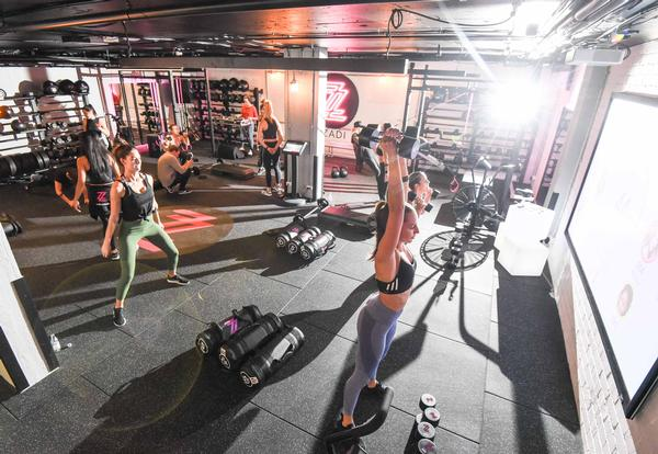 Studios are designed to create a nightclub vibe