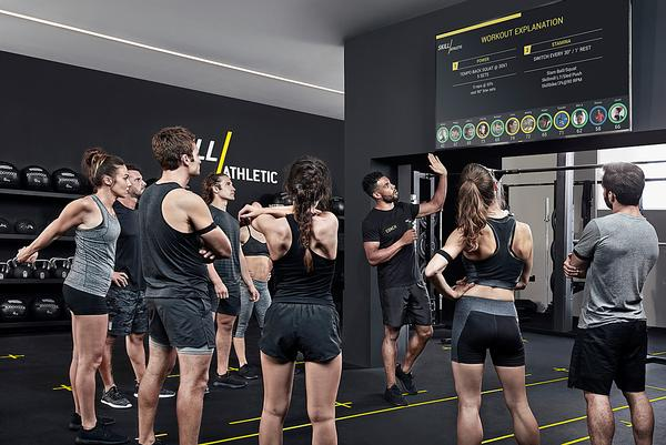 Digital in-club options with Technogym's Skill Athletic