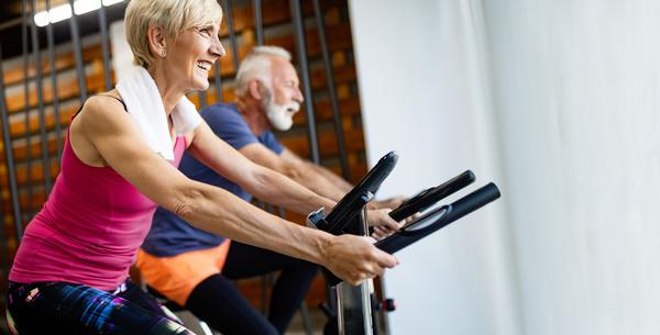 Older adults hold 70 per cent of the nation's wealth yet only 11 per cent of leisure centre members are age 55-64