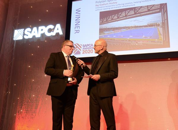 The awards night was hosted by BBC presenter Mark Clemmit (right)
