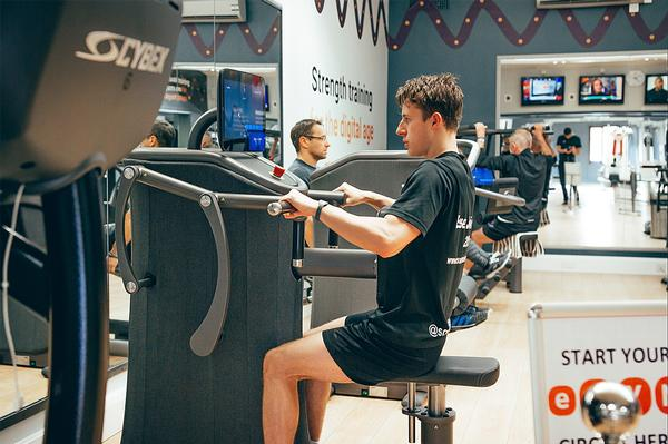EGYM's automated set-up has enabled the club to create a non-intimidating, accessible environment