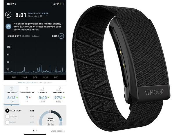 Whoop Straps were US$500, but the company pivoted to a susbcription model of US$30/month in 2018