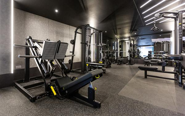 The new gym has been completely reconfigured with Technogym equipment / PHOTO: TECHNOGYM