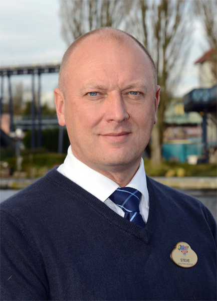Steve Lomas, Director of Park Operations, Drayton Manor