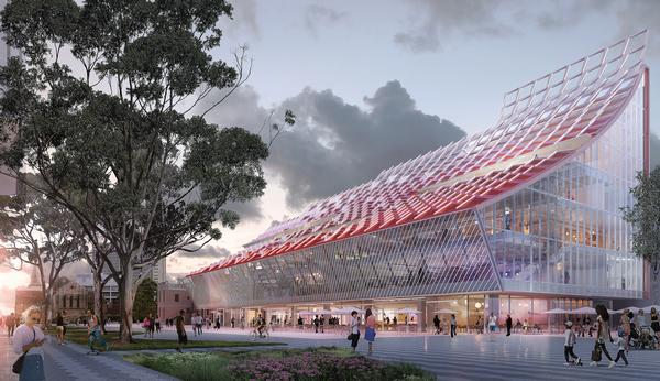 5 Parramatta Square has been designed so that it doesn't block the sun