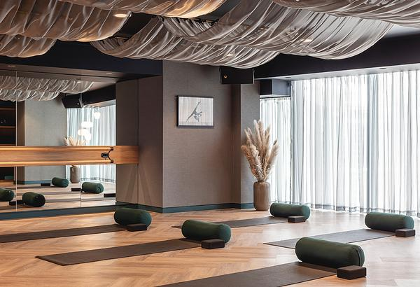 The luxury club has TVS flooring throughout, to ensure acoustic and workout performance / Photo: Billy Bolton