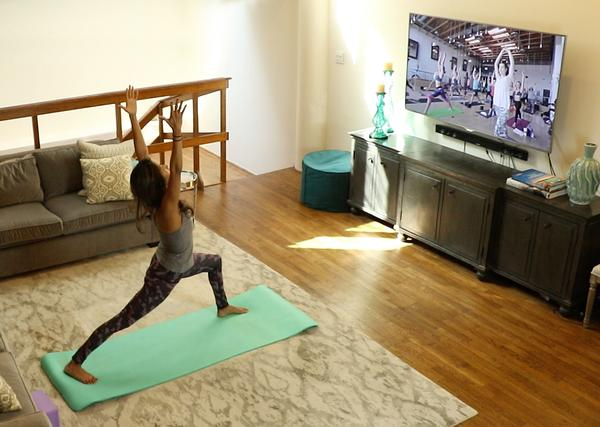 Consumers can take part in elite boutique classes on-demand from the comfort of their home
