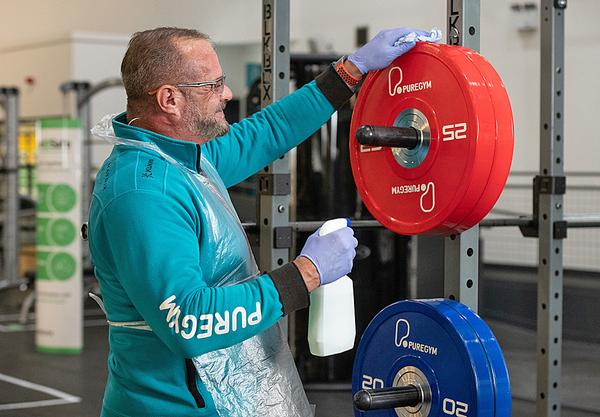 PureGym's stringent cleaning procedures have ensured members feel comfortable returning to the clubs