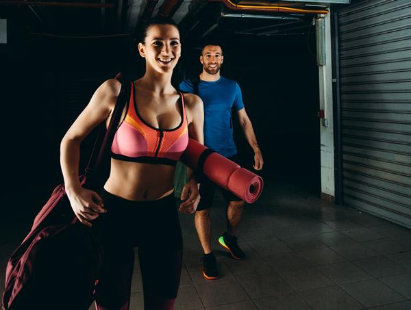 21 per cent of those exercising as a couple said being active together made them feel more attracted to their partner / PHOTO: SHUTTERSTOCK/DRAGAN GRKIC