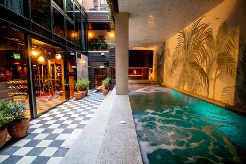 The centre also has an outdoor courtyard area / Jason Ennis – Press Up Entertainment Group