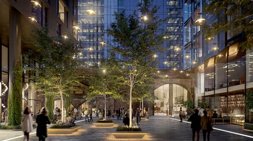Bankside Yards will feature new homes, offices, cultural, retail and leisure amenities and landscaped public spaces