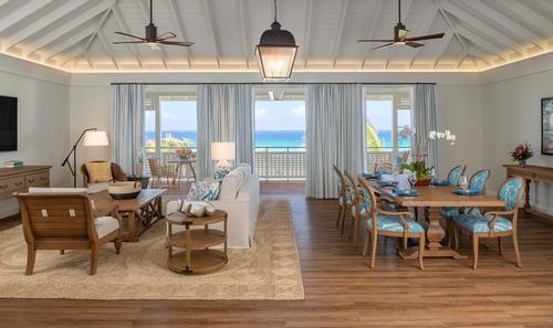 The Great House Ocean Suite is the resort's signature accommodation