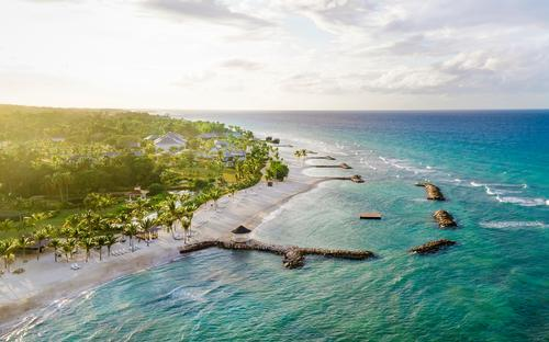 Half Moon is located between Montego Bay and the Caribbean Sea