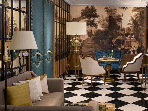The hotel's aesthetic is reminiscent of a country estate / Will Pryce