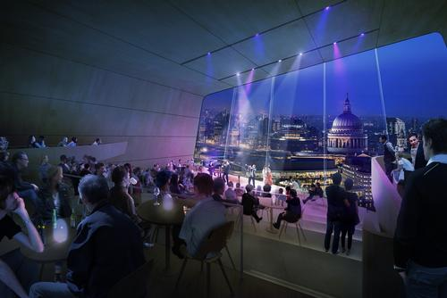 The building is planned for the current site of the Museum of London in the city's Square Mile area / Diller Scofidio + Renfro
