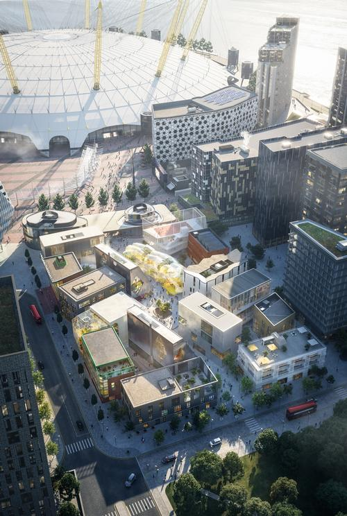 The district will be home to around 1,800 creative industry workers