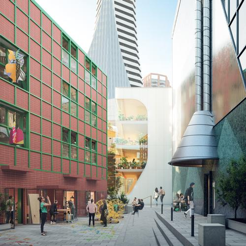 Eight architects, including HNNA, will each design two buildings