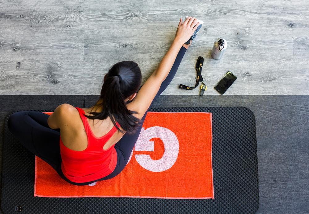 GO fit had its own studio creating on-demand video content just three days into the lockdown / GO fit