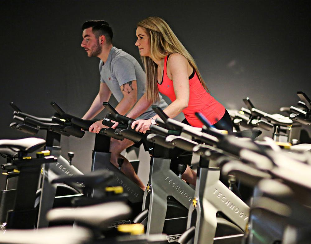 The centres within the Leisure Transformation Programme are managed by GLL and are equipped in partnership with Technogym / GLL/Technogym