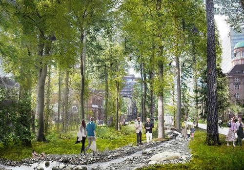 The project will create a new recreation area in the middle of the Danish capital city.  / Gehl Architects/Olafur Eliasson/Sebastian Behmann