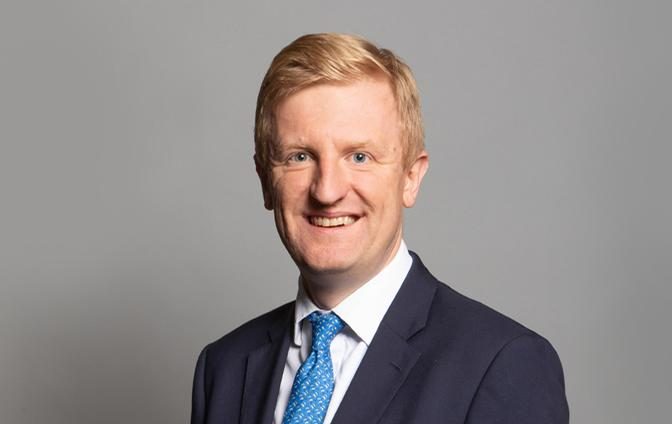 Oliver Dowden is expected to announce the reopening schedule for gyms and spas at 5.00pm today / DMCS