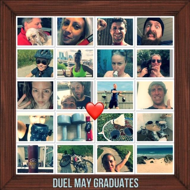 All DUEL participants have access to a community group, where successes are celebrated / DUEL
