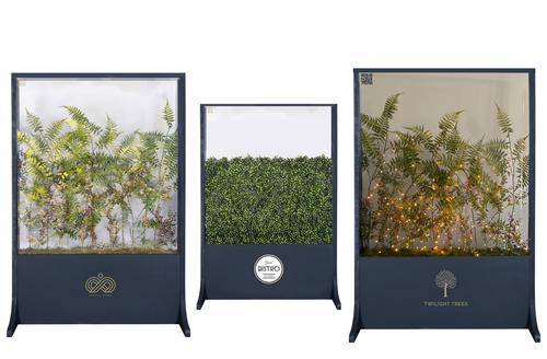 Twilight Trees unveils foliage-filled spa safety screens