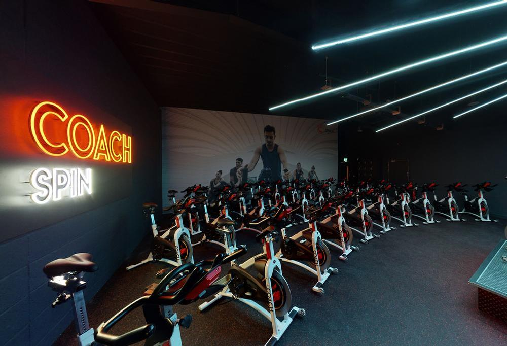 The first Coach Gym opened this year in Leeds – where 90 per cent of members are female / Coach Gyms