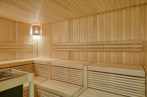 The thermal spa will be home to a sauna world / Buxton Crescent Hotel