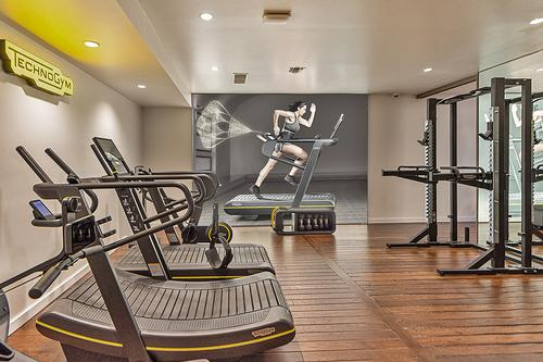 Specifically targeting the high-end consumer market, the store will allow people to access and discover the company's at-home solutions / Technogym
