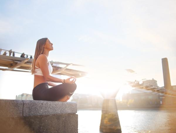 London was found to be the  yoga / pilates capital of the uk, with 19% of residents choosing it as their preferred activity* / PHOTO: SHUTTERSTOCK/MERLA