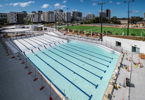 The new Gunyama Park Aquatic and Recreation Centre in Sydney