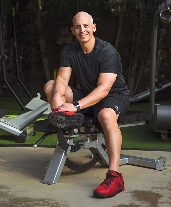 Pasternak holds a MSc in exercise physiology and nutritional sciences / PHOTO: HARLEY PASTERNAK