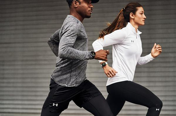 Products are designed in partnership with 'ecosystem partners' such as Under Armour