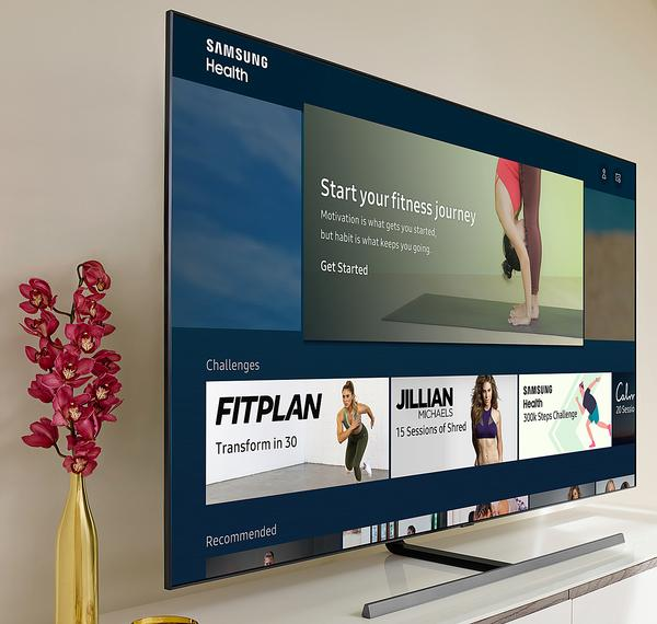 Samsung Health is now included with the entire range of 2020 Samsung Smart TVs