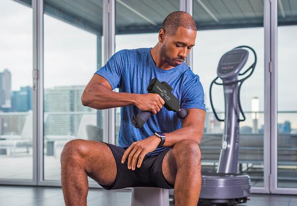 The Power Plate Pulse is a best-in-class premium handheld massager featuring four vibration intensity levels